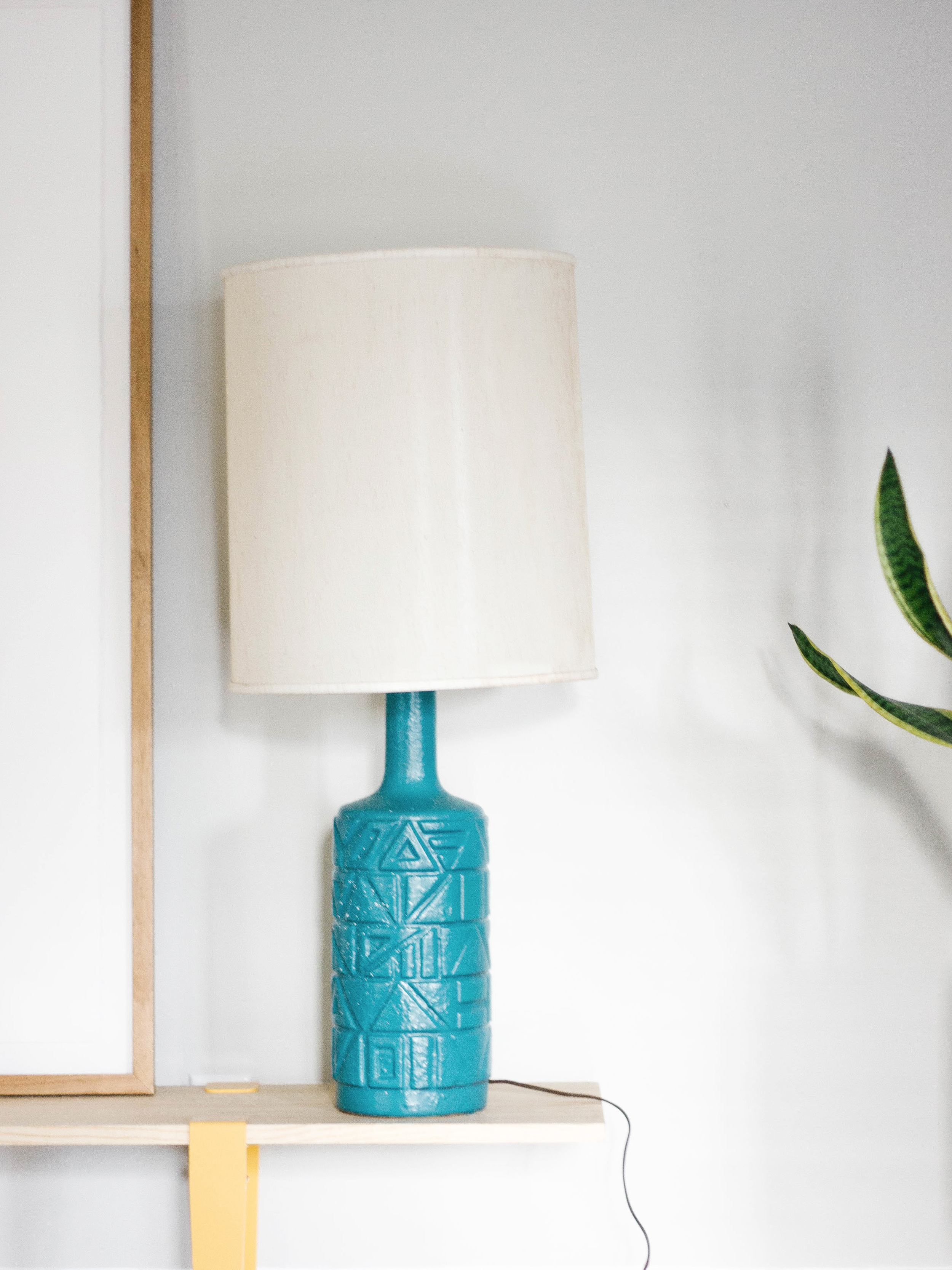OLD BRAND NEW • BEFORE + AFTER VINTAGE LAMP