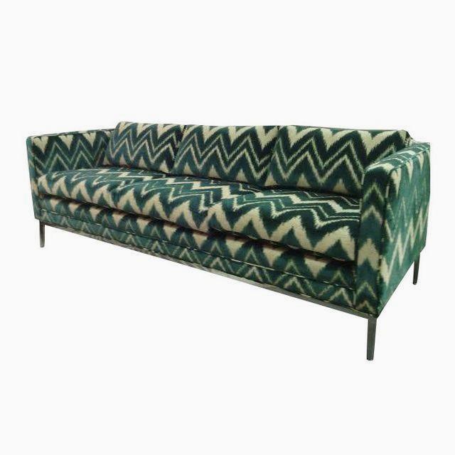Chevron Sofa