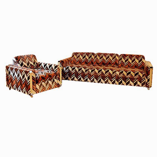 Jack Lenor Larsen Sofa Set