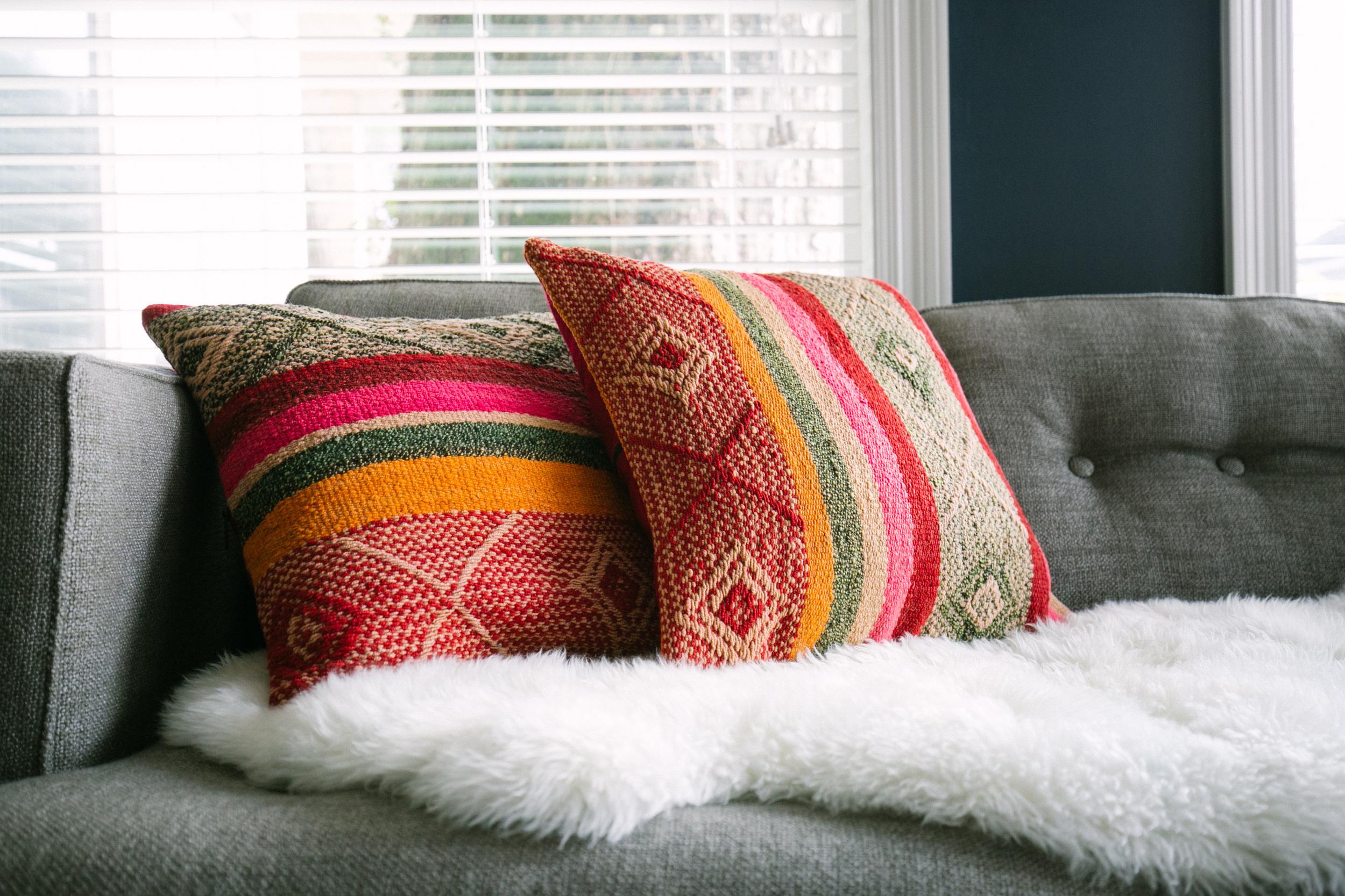 Peruvian pillows