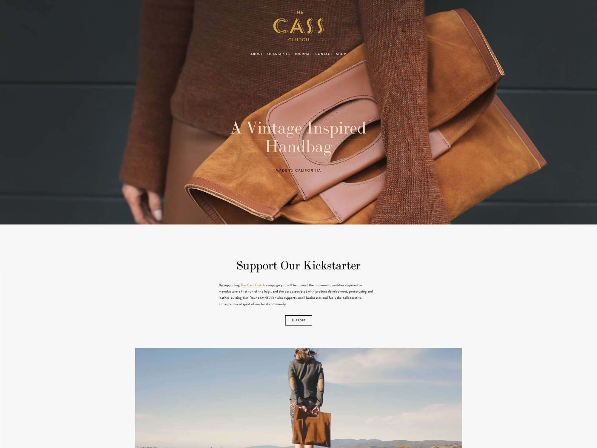 The Cass Clutch Designed by Old Brand New