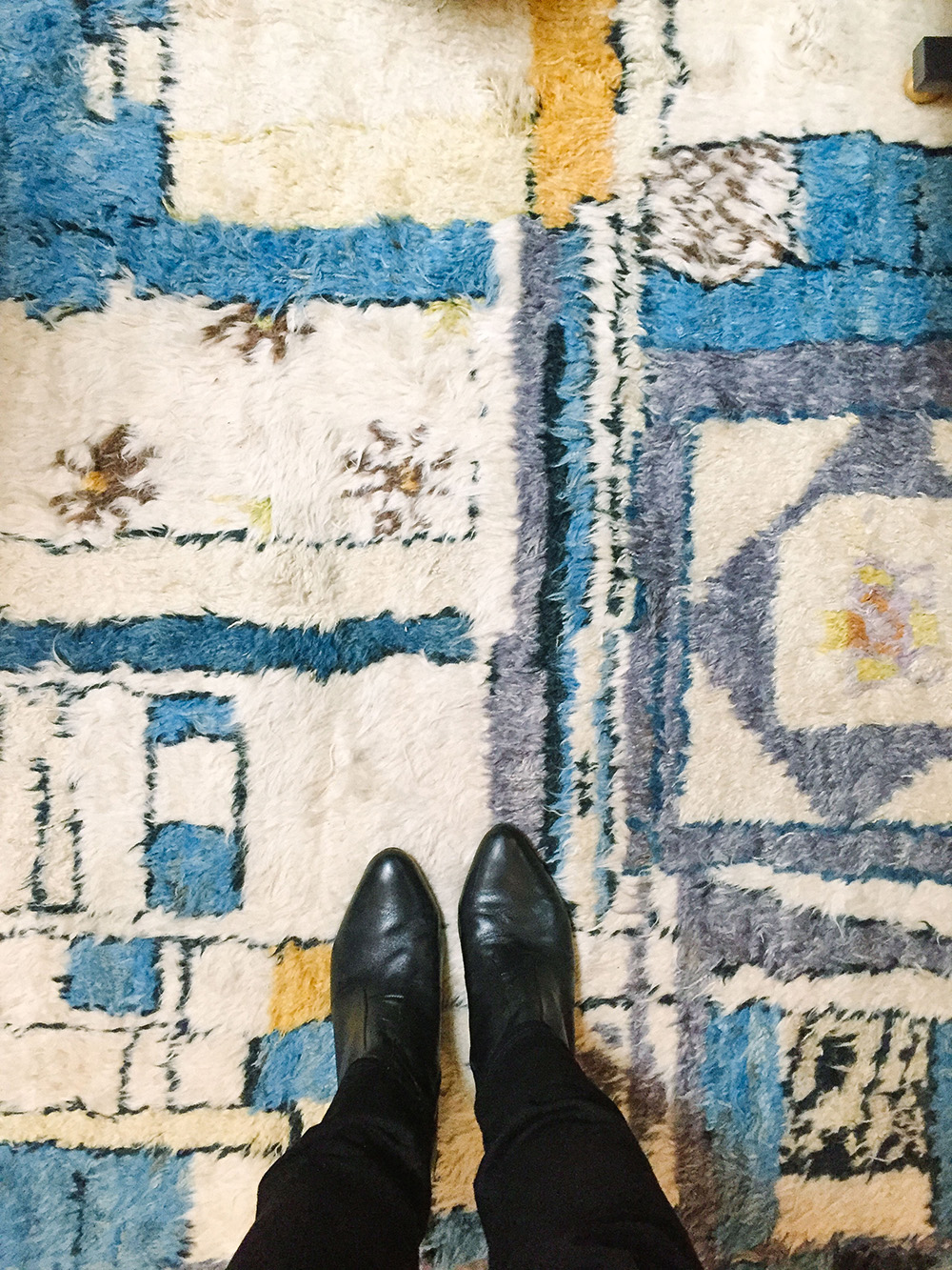 This fab rug at Harbinger