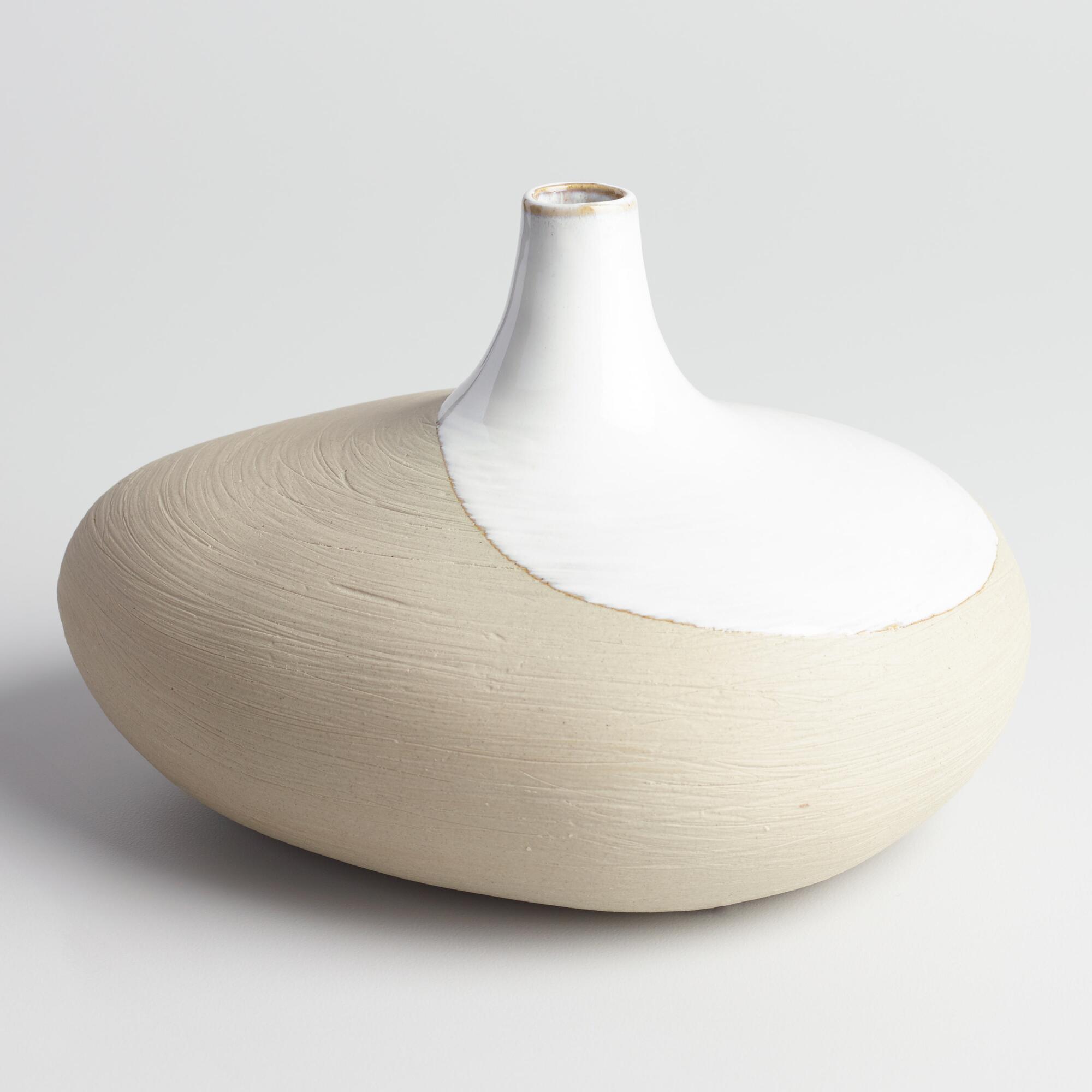 Ceramic Vase $13
