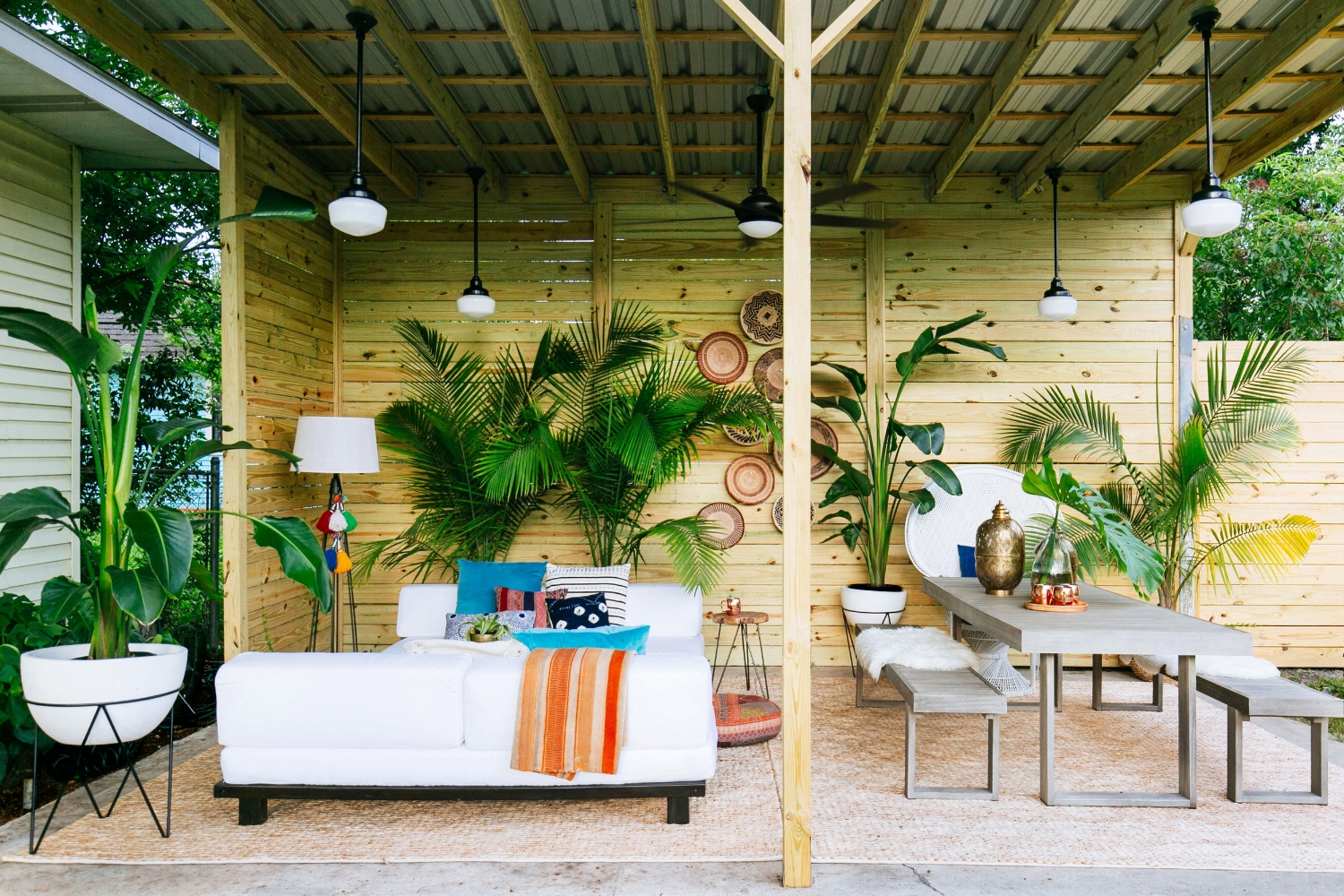 Old Brand New Patio Makeover with West Elm