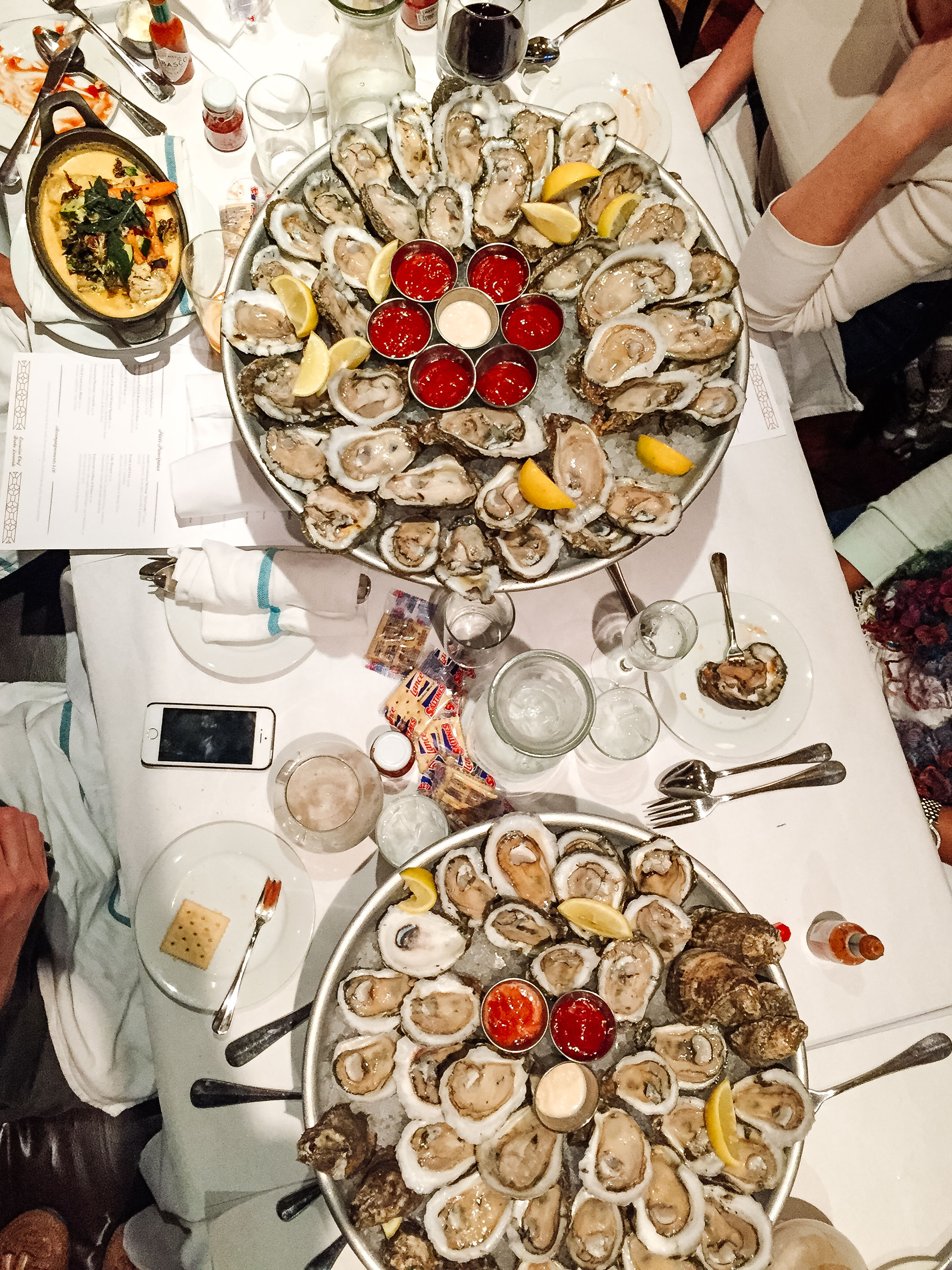 Lüke  • Don't miss out on their happy hour Oysters!