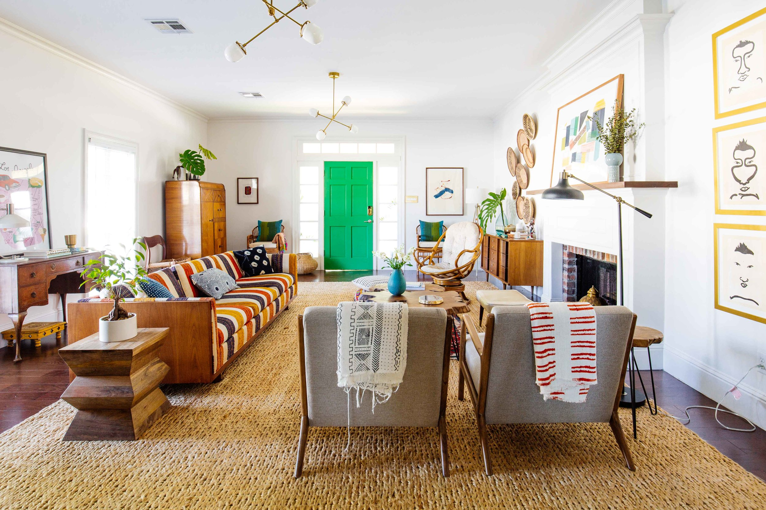 Crazy Colorful New Orleans Home Tour