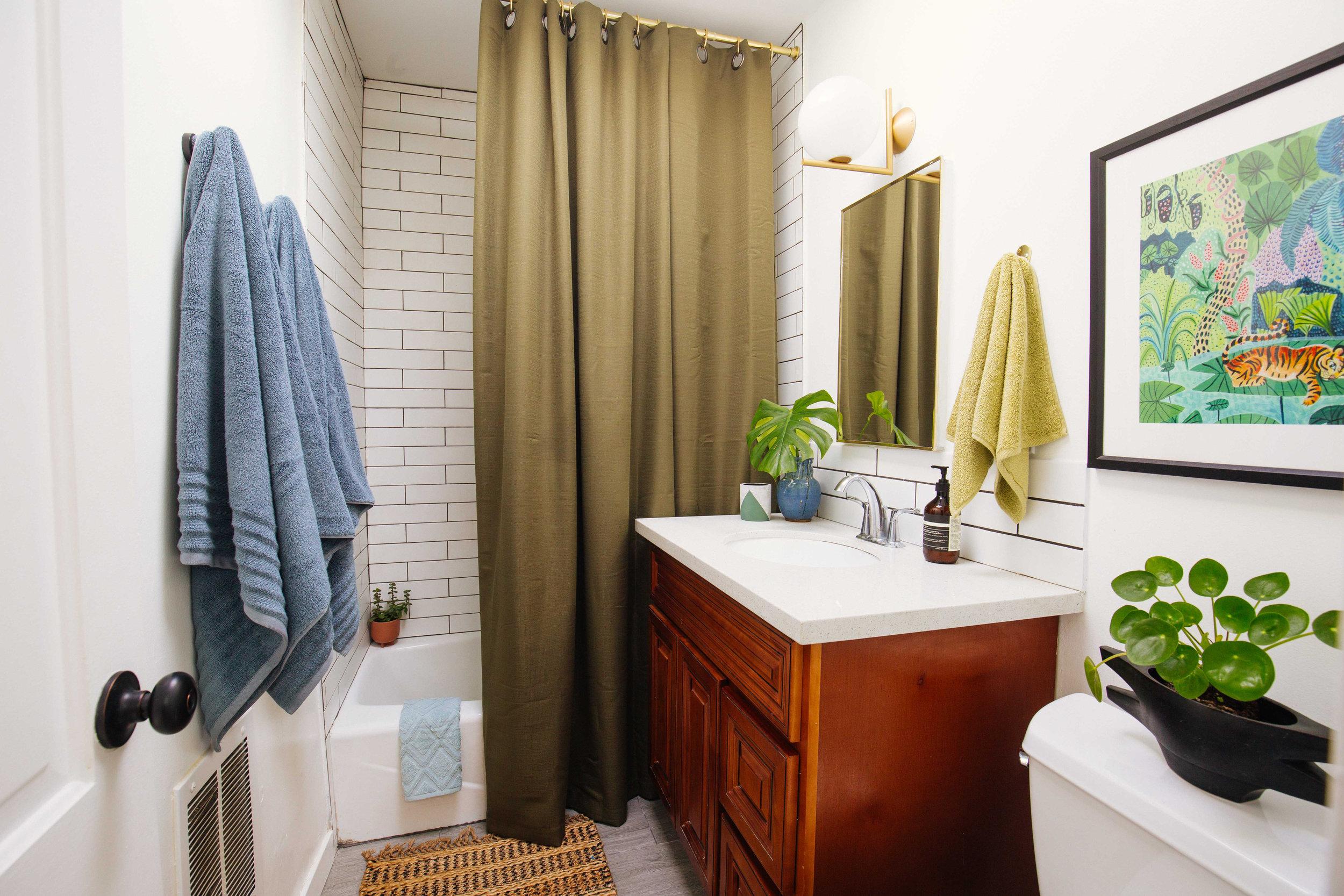 Small Bathroom Refresh