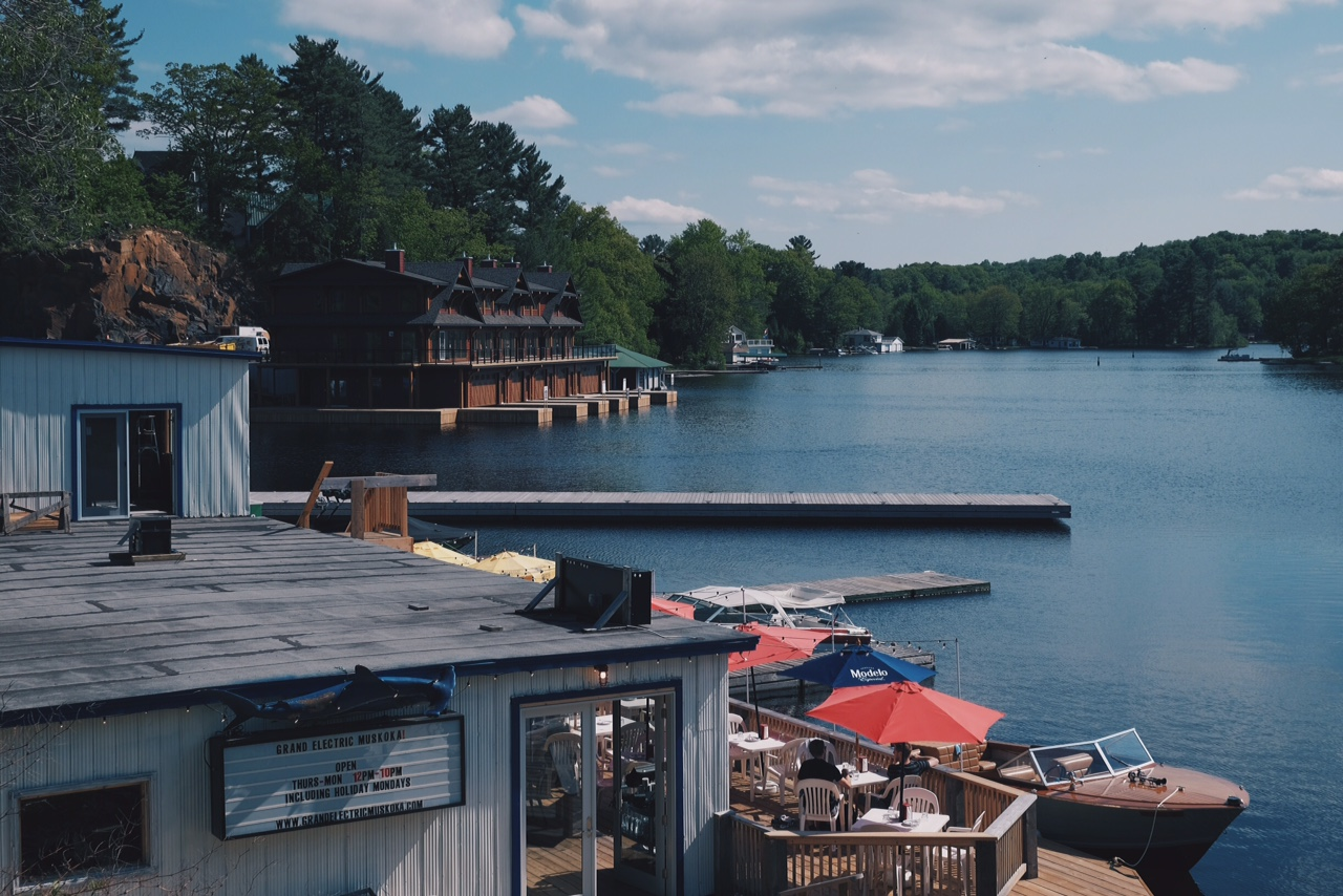 Port Carling. Photo: Graeme Stewart-Robertson, 2015