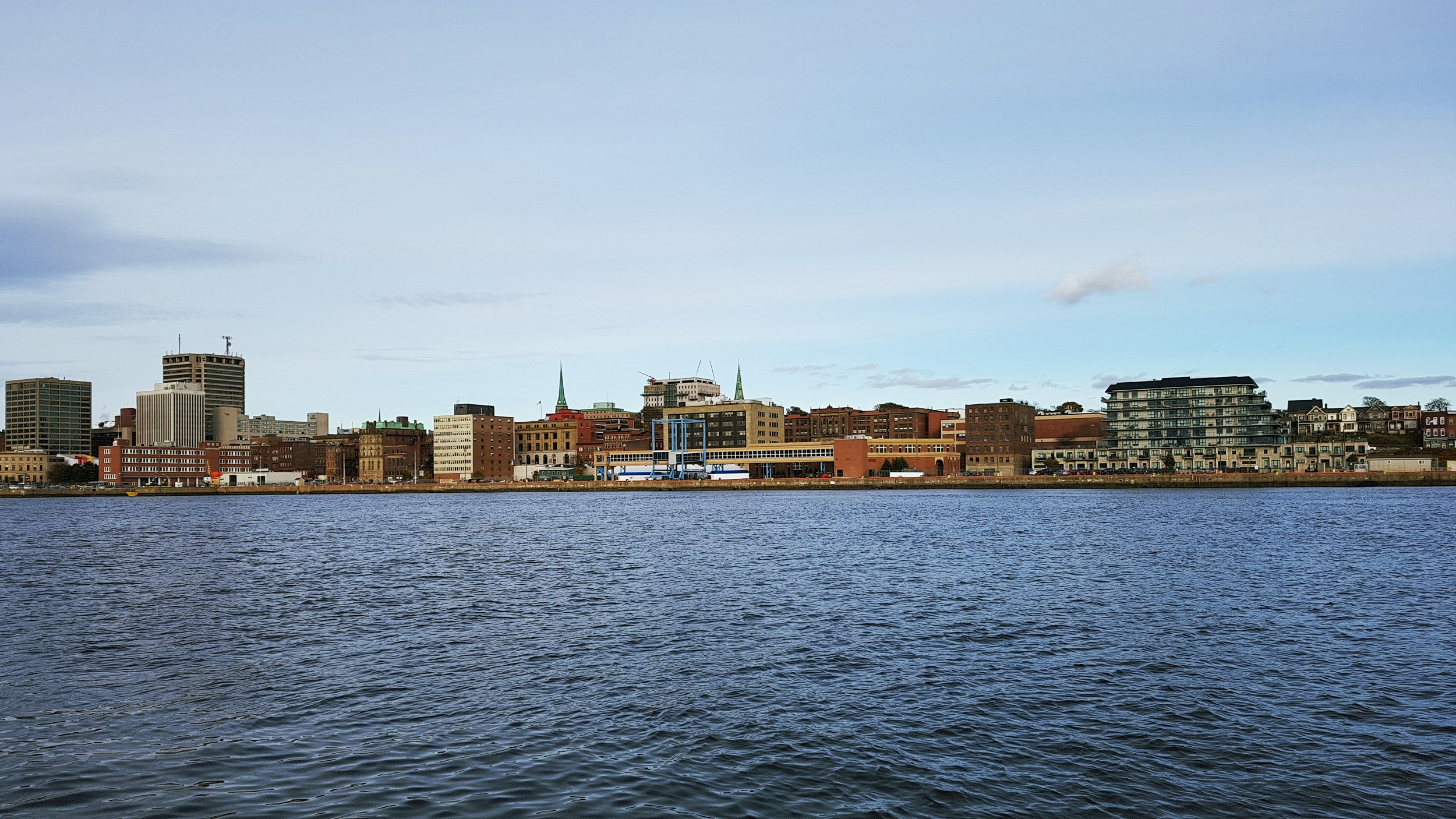 A view of uptown from the Harbour