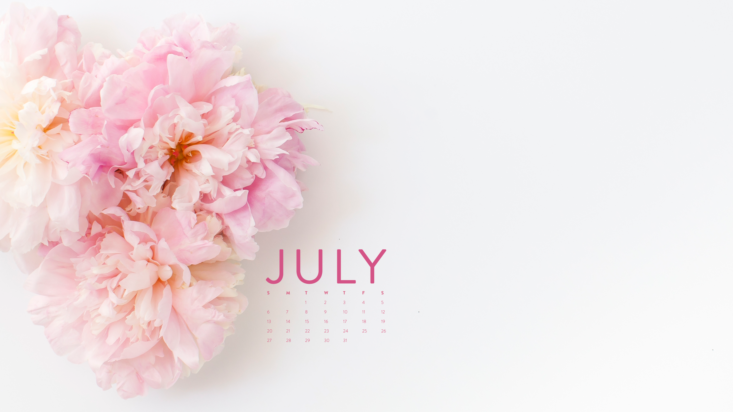 I found this gorgeous July calendar by  Shay Cochrane  on  Ashlee Proffitt's Site  =) Swoon.