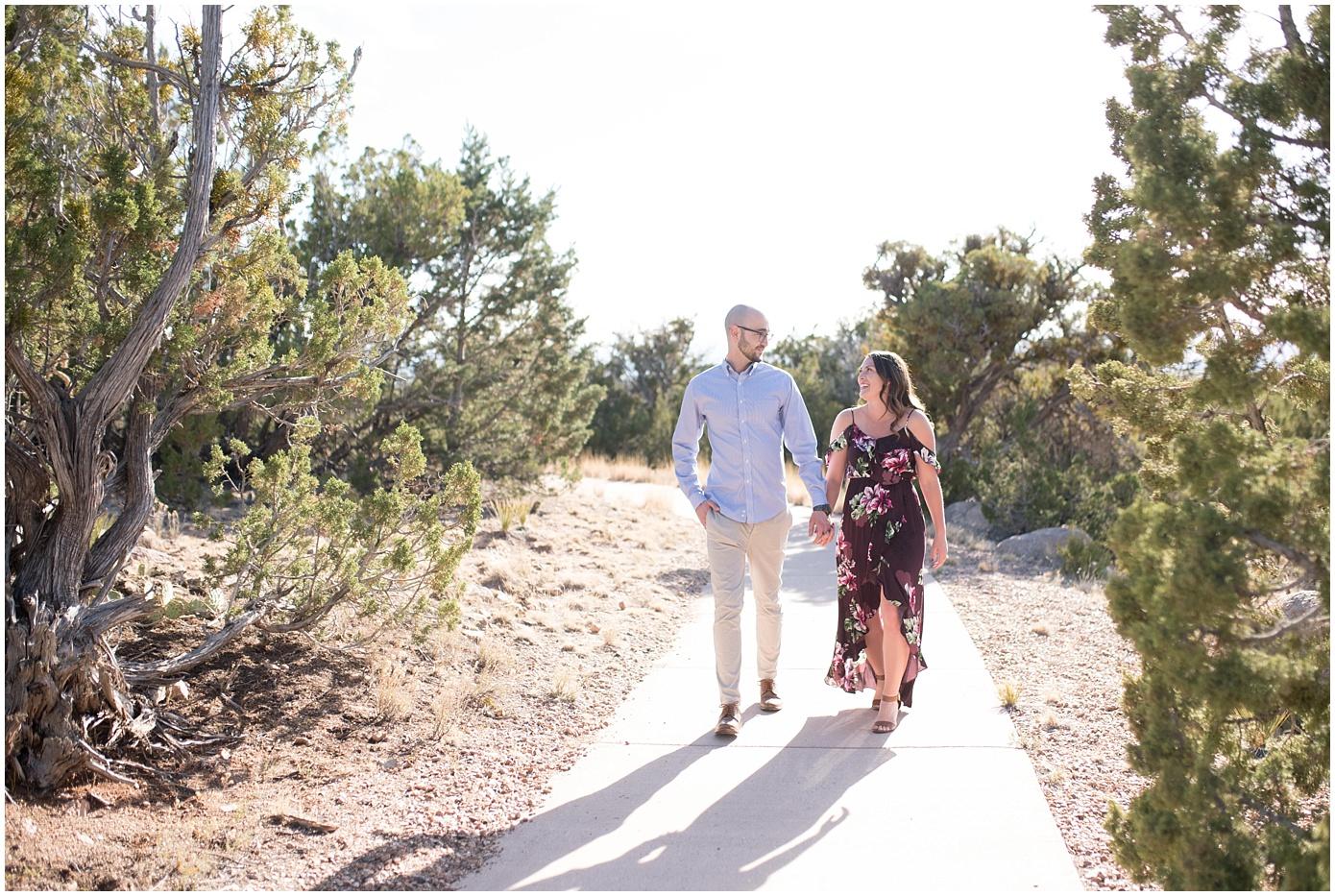 albuquerque-wedding-engagement-photographer-foothills-flower-dress-flowy