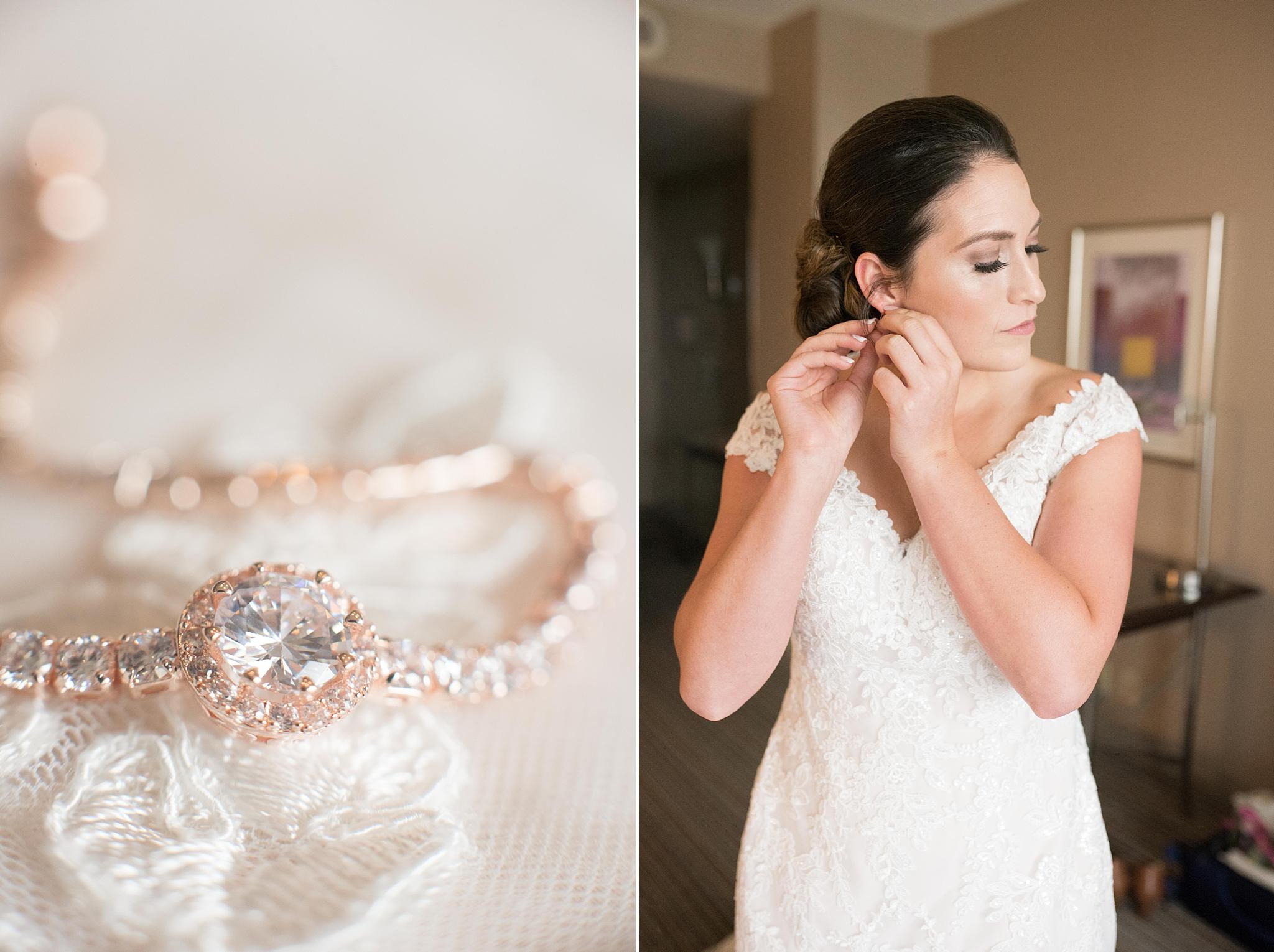San Felipe de Nero and Hyatt Downtown wedding, bridal elegance by darlene, jewelry enchanted jewelers, dj cutmaster music, albuquerque wedding photographer, blush and grey