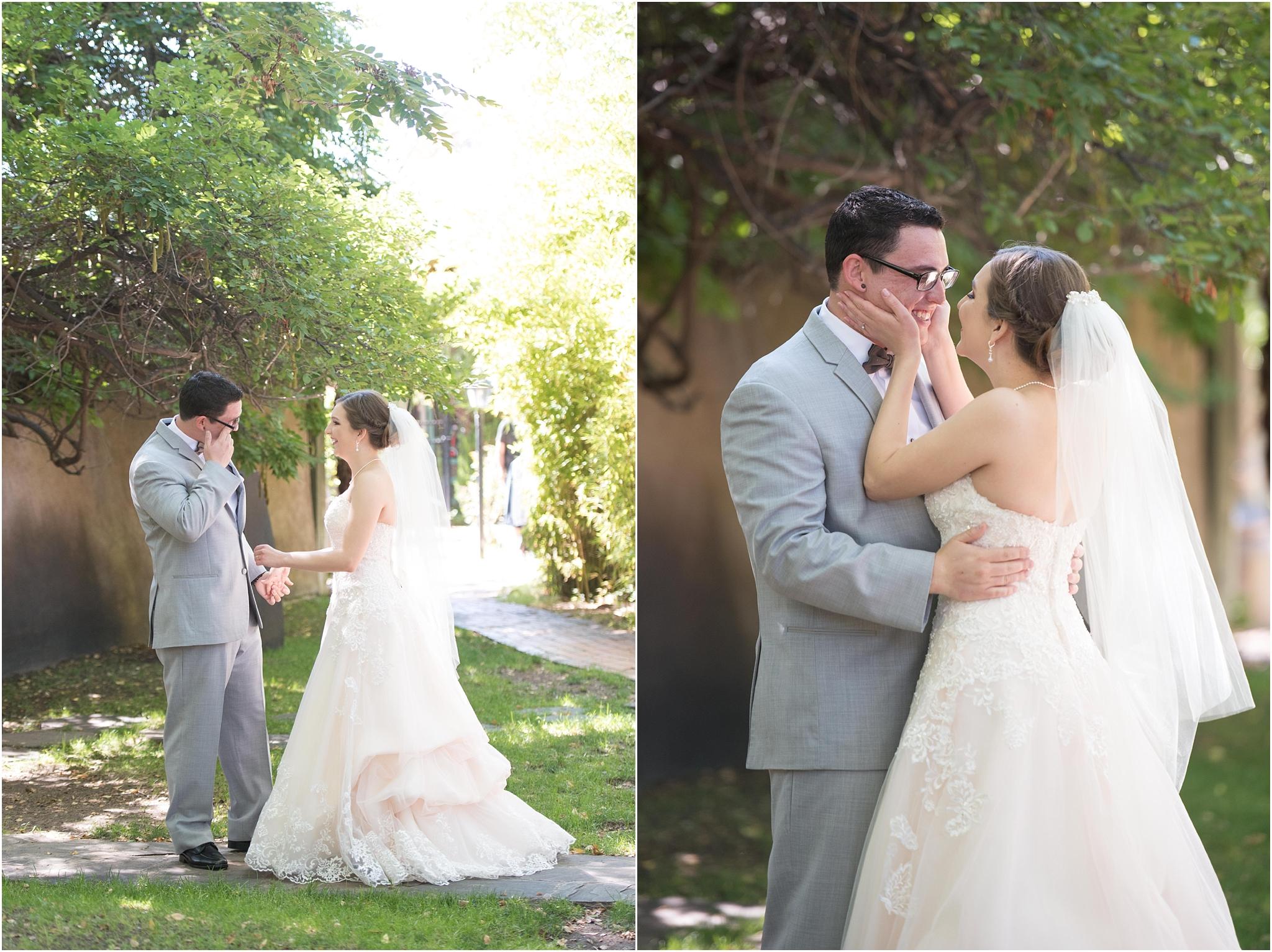 casas de suenos albuquerque new mexico wedding photographer venue courtyard outdoor ceremony reception best abq venue kayla kitts