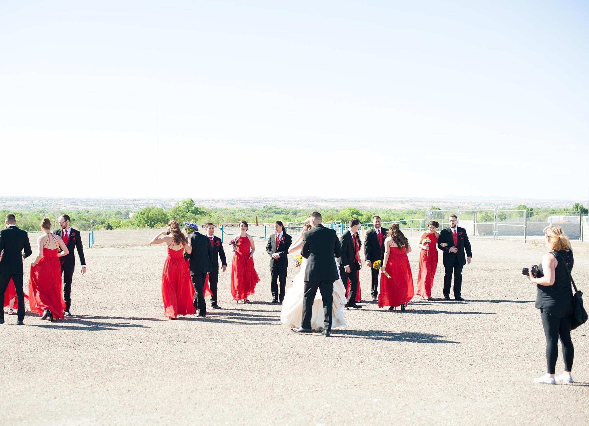 albuquerque wedding photographer balloon fiesta best venue outdoor ceremony behind the scenes kayla kitts summer