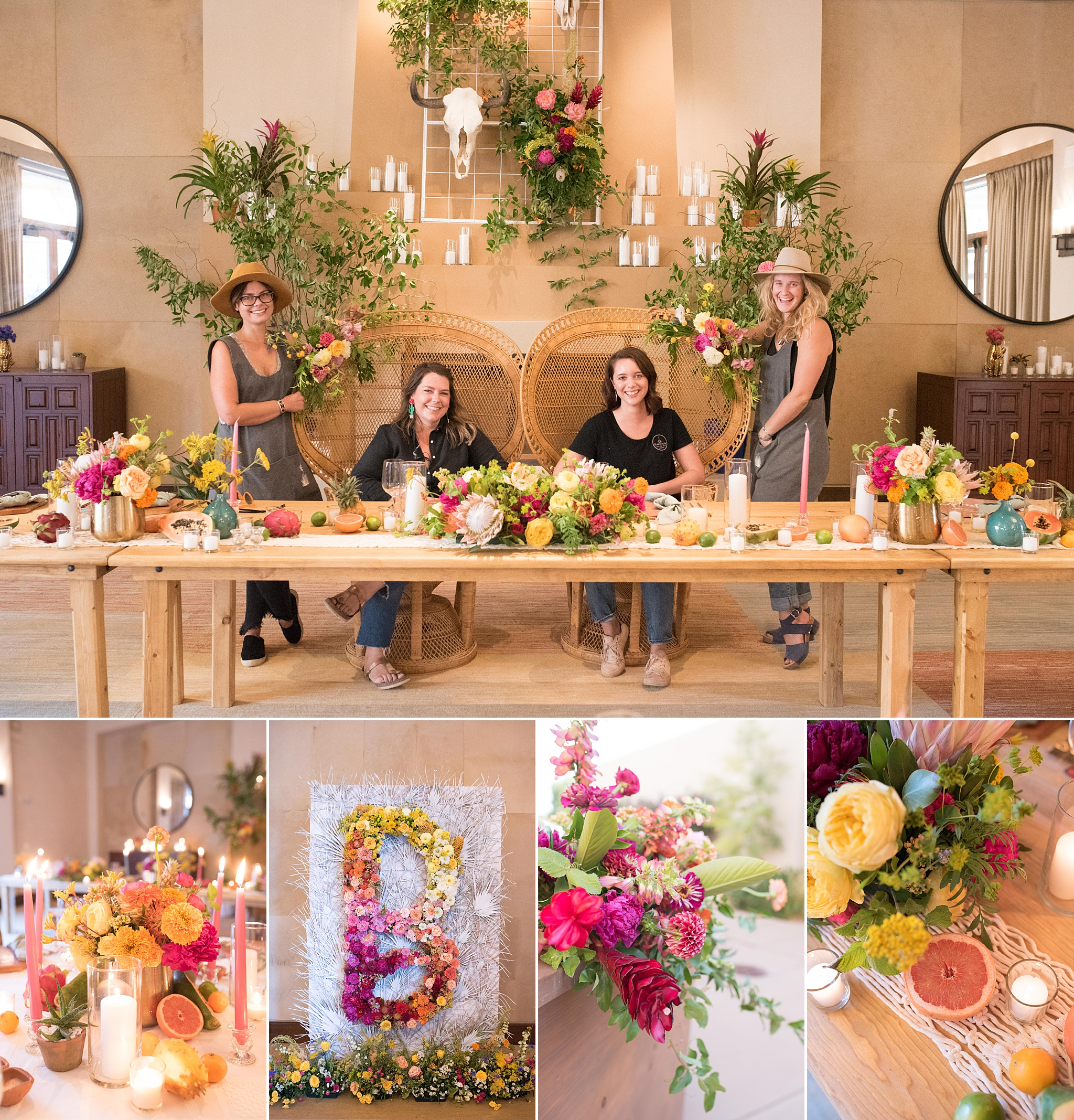 albuquerque santa fe new mexico wedding photographer florist luxe florals floriography florecita best top vendors kayla kitts
