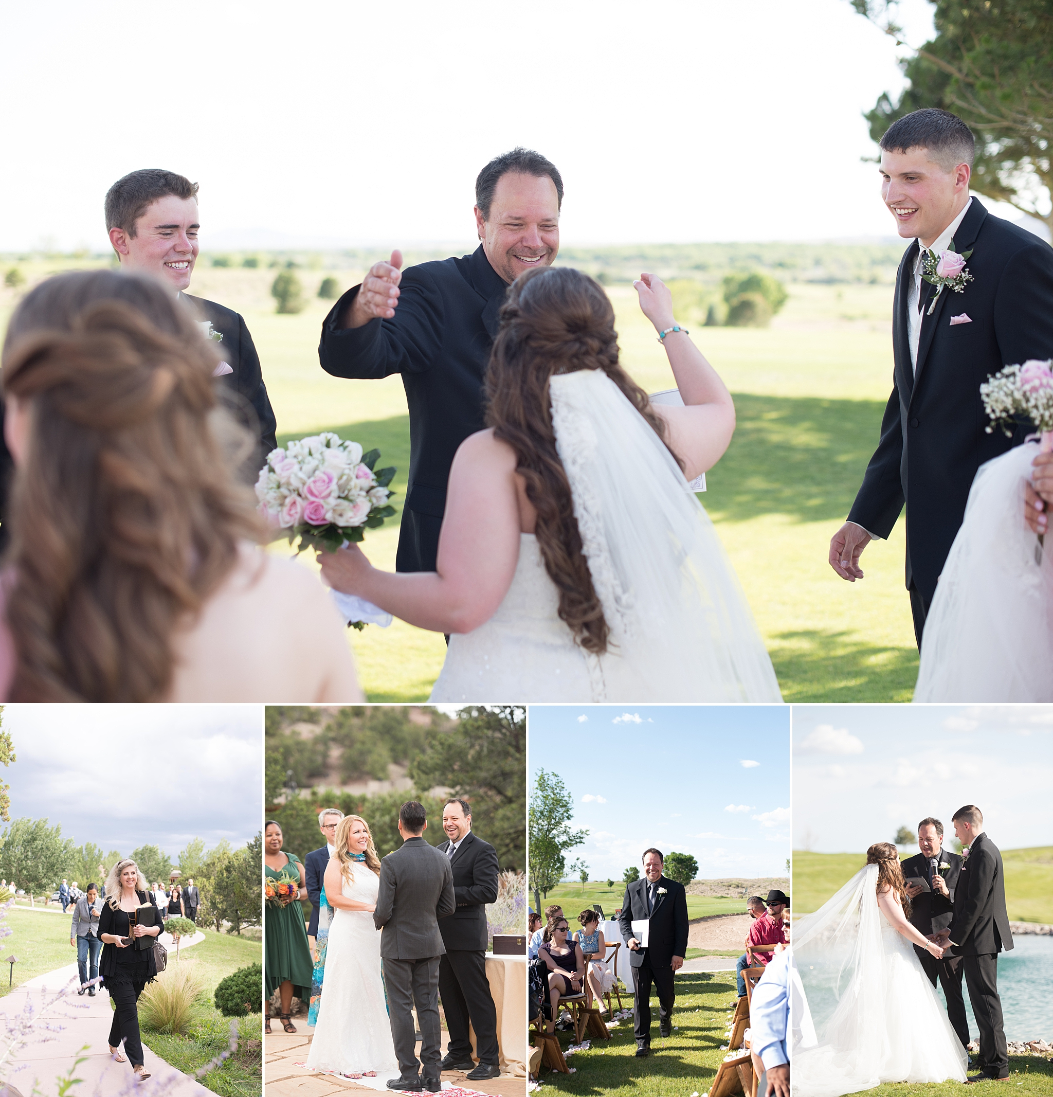 Blog post by Kayla Kitts Photography. Officiant Paul of De Novo Pastoral leads ceremonies at Isleta Resort outside of Albuququerque New Mexico, and at Four Seasons in Santa Fe, New Mexico. A blog about why he does a wonderful job on weddings days and beyond, and is one of the top vendors in Albuquerque, Santa Fe, and all of New Mexico.