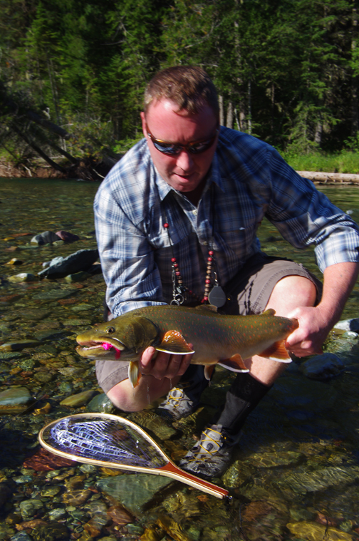 A nice average Bull Trout from the Wigwam River