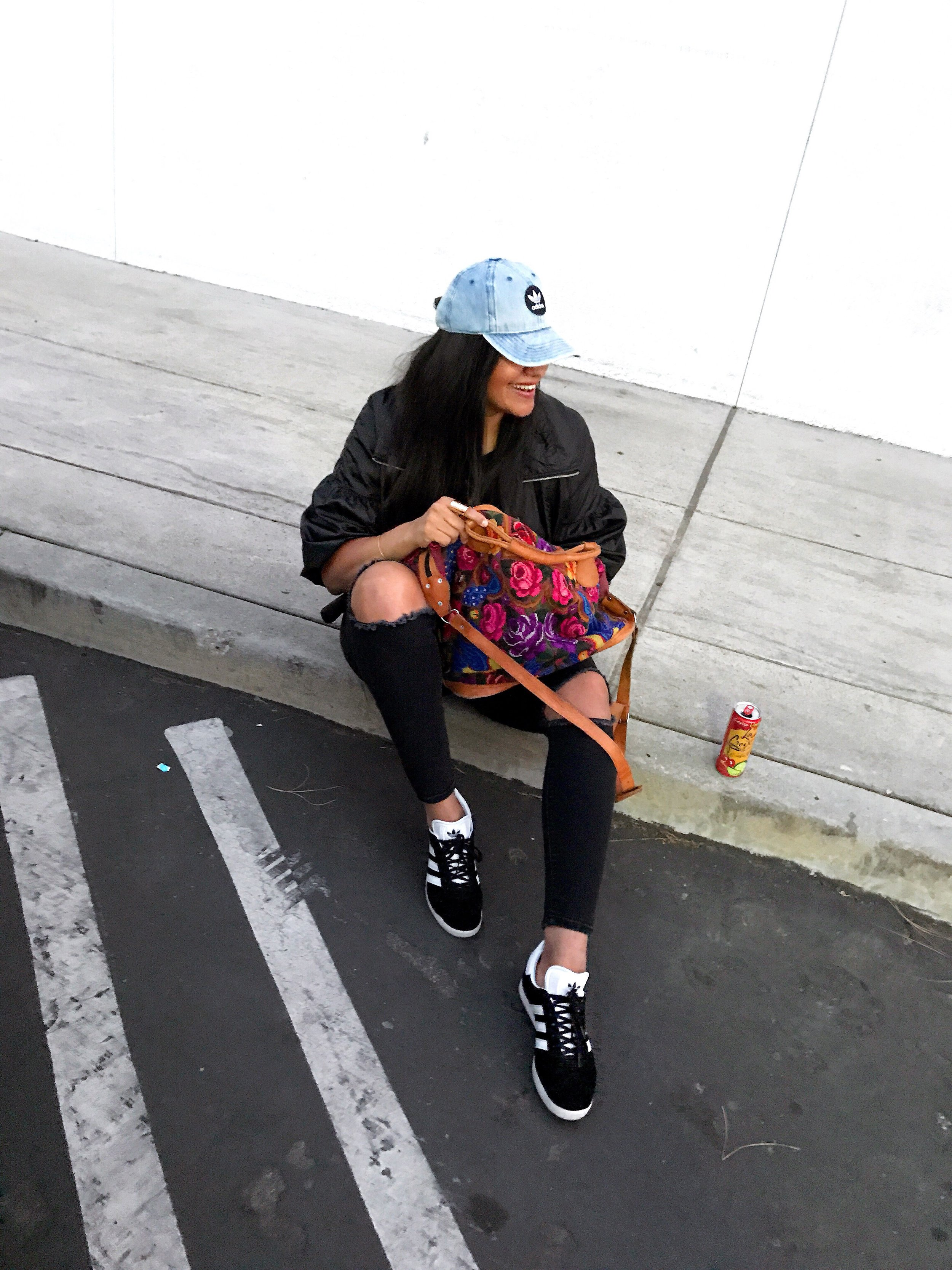 [click bold items to shop]  Hat  ::   Bag  ::  Jeans    ::  Shoes
