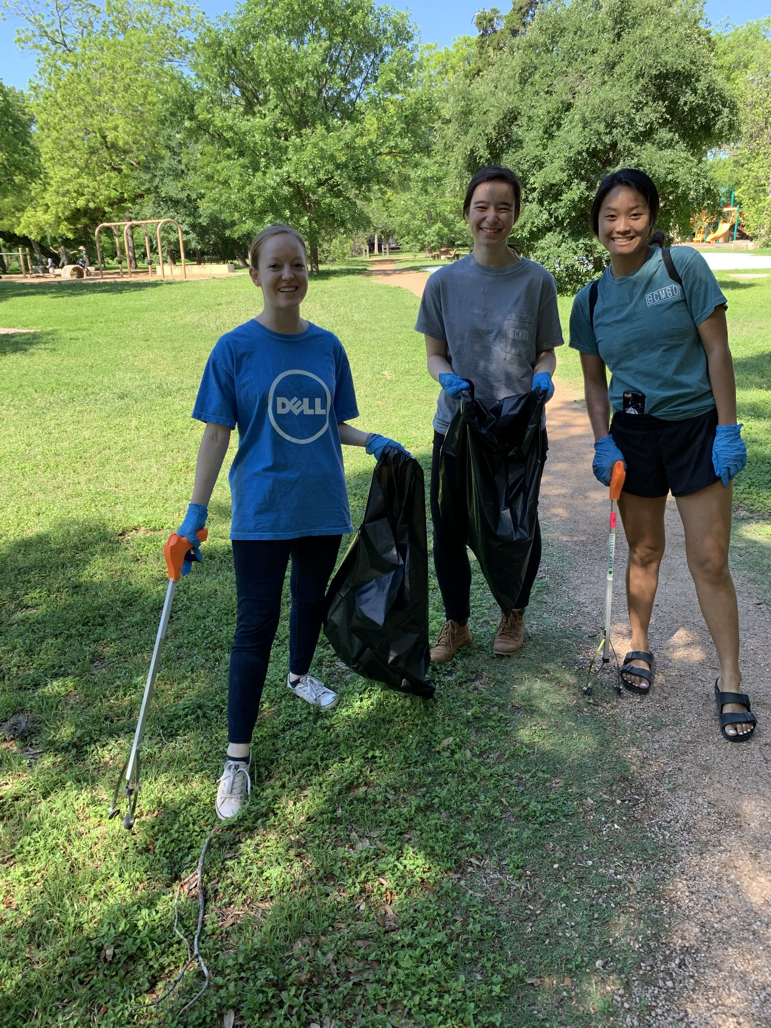 Volunteer Event with Dell. Spring 2019