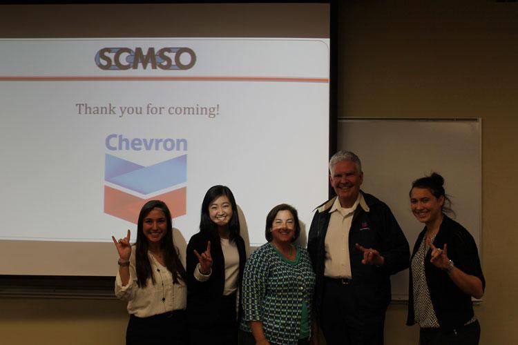 SCMSO Chevron Meeting. Spring 2014