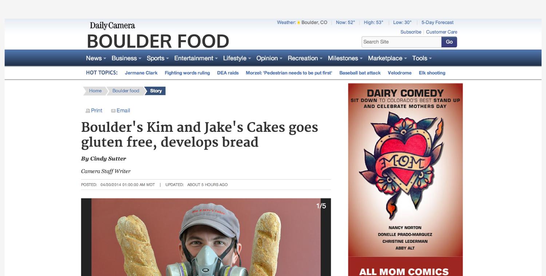 Boulder Daily Camera - April 30, 2014