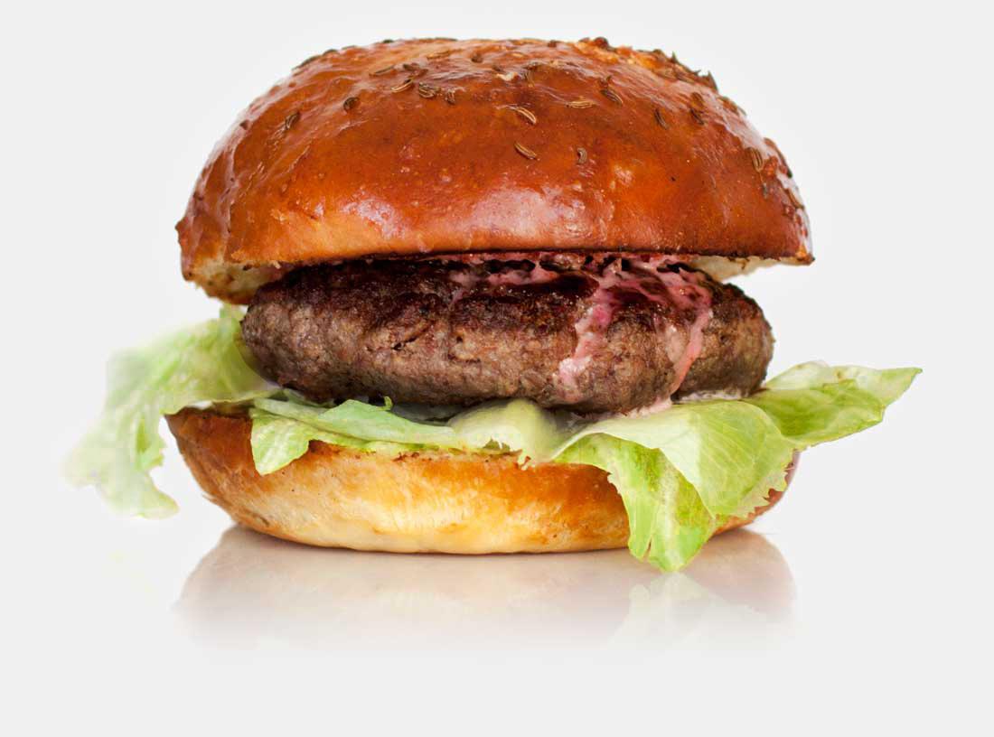 Wise Sons Deli Burger