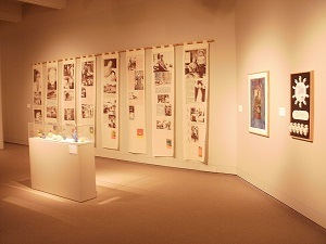 Installation shot of 10 years of collecting exhibition.