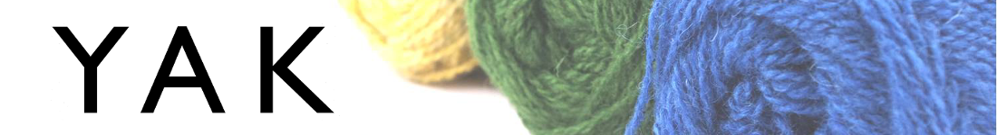 New kid on the block, YAK is the latest online yarn shop to open up their virtual doors. Their carefully selected range of products showcases independent   British   yarn   companies and hand dyers from across the UK alongside some of themost exquisite yarns from further afield. Along with their fantastic choice of knitting tools and  accessories; there is something to suit any knitter's style.  Word on the grapevine is that YAK will be opening a real, physical bricks and mortar shop in Brighton  later this year. All of their lovely yarns will be converted from pixels to bona fide squishy skeins    you'll be able to pick up and actually hold in your hand. Can't wait until then? You can catch YAK atUnwind Festival in July .