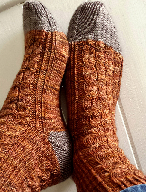 Rosthwaite Socks  by Louise Tilbrook