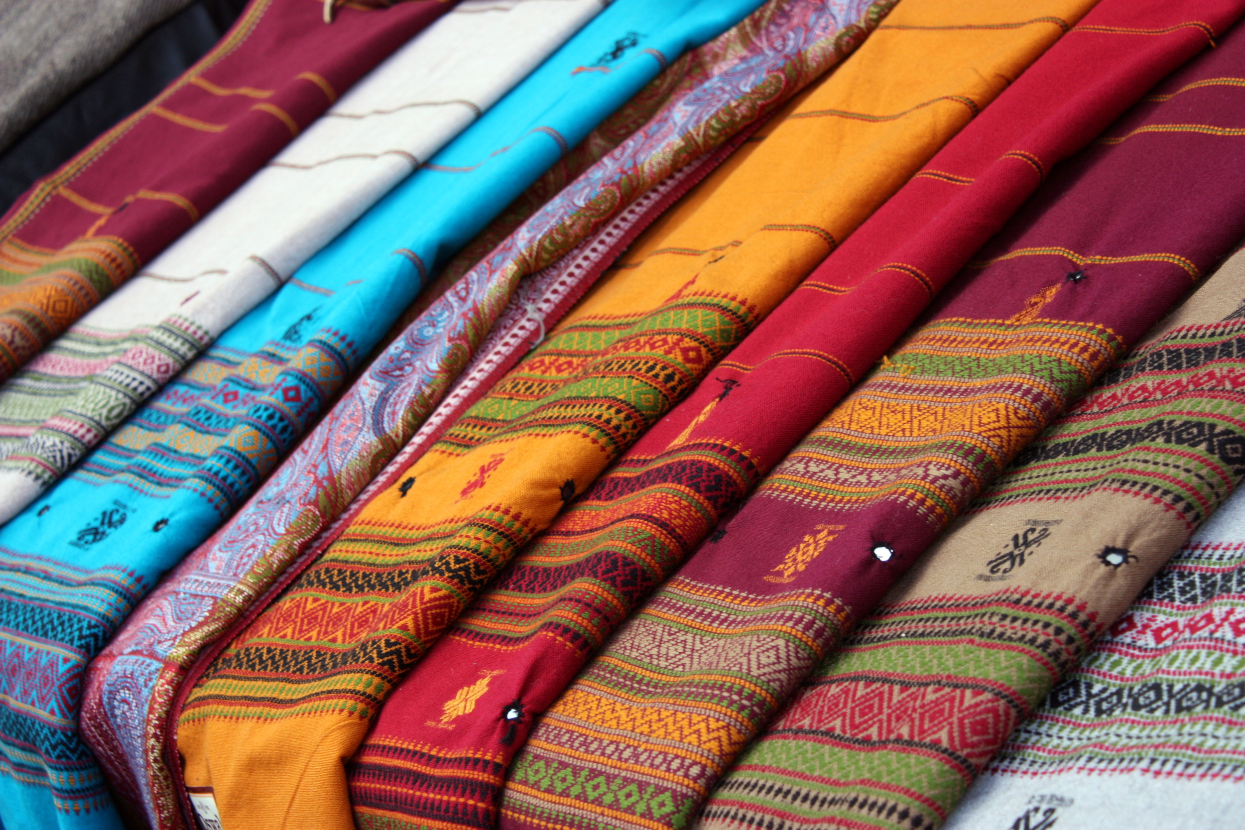 textiles for sale in the Laines