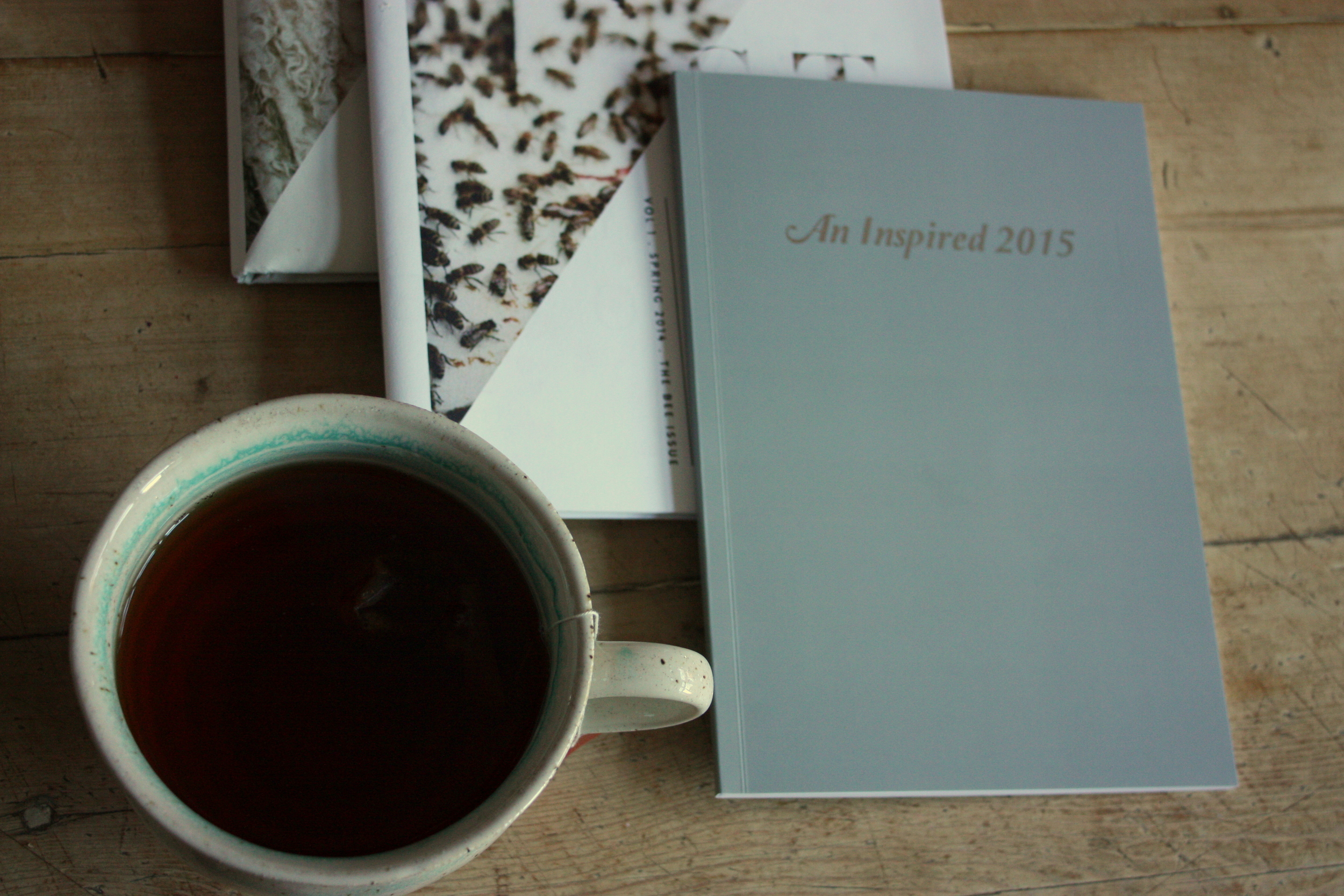 Hart and Honey magazines, Rooibos and my journal. Perfect.