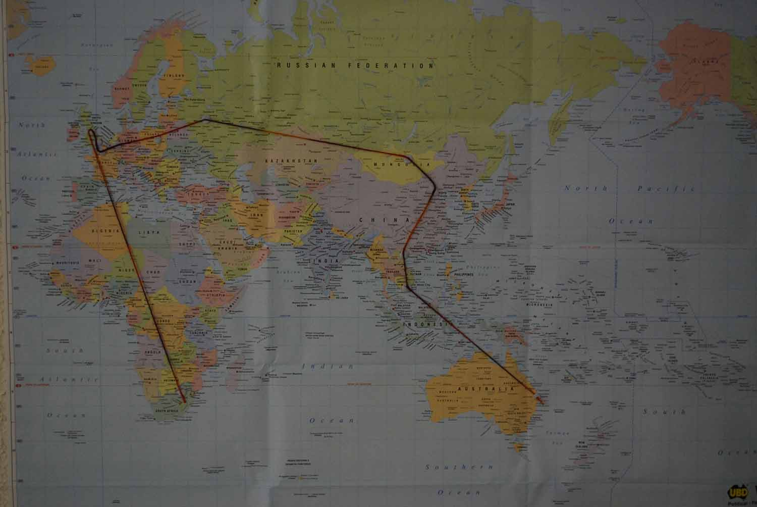 Map with Yarn
