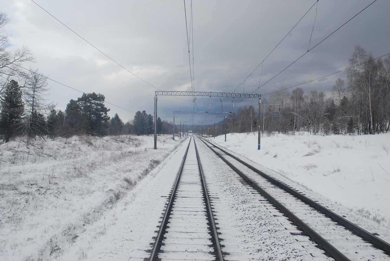 Snowy Siberia