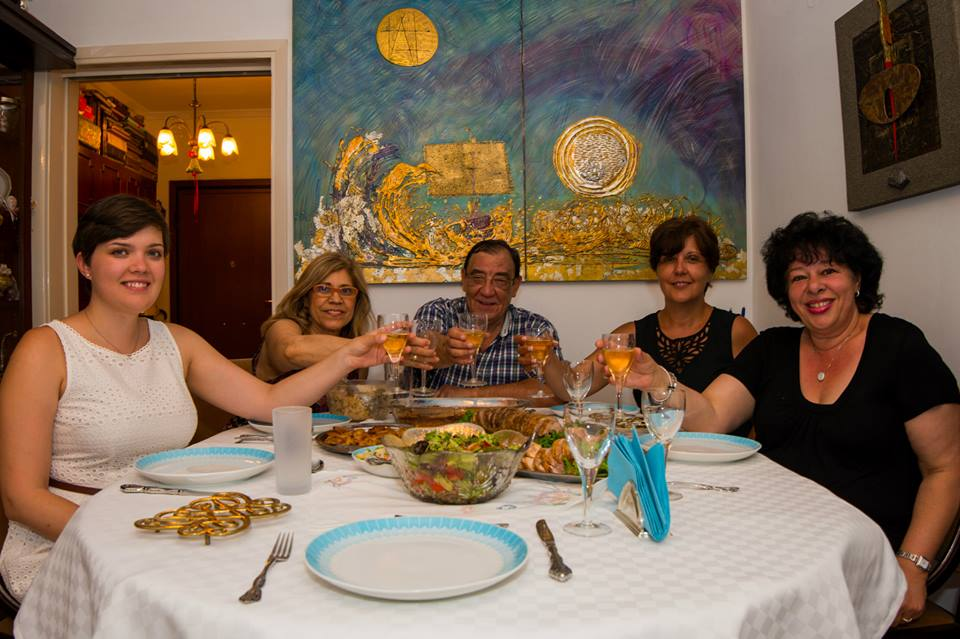 Good food, good company, good meals for postcard bloggers 2015
