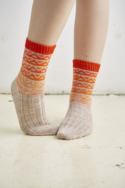 Otis Socks by Rachel Coopey (click image for more details)