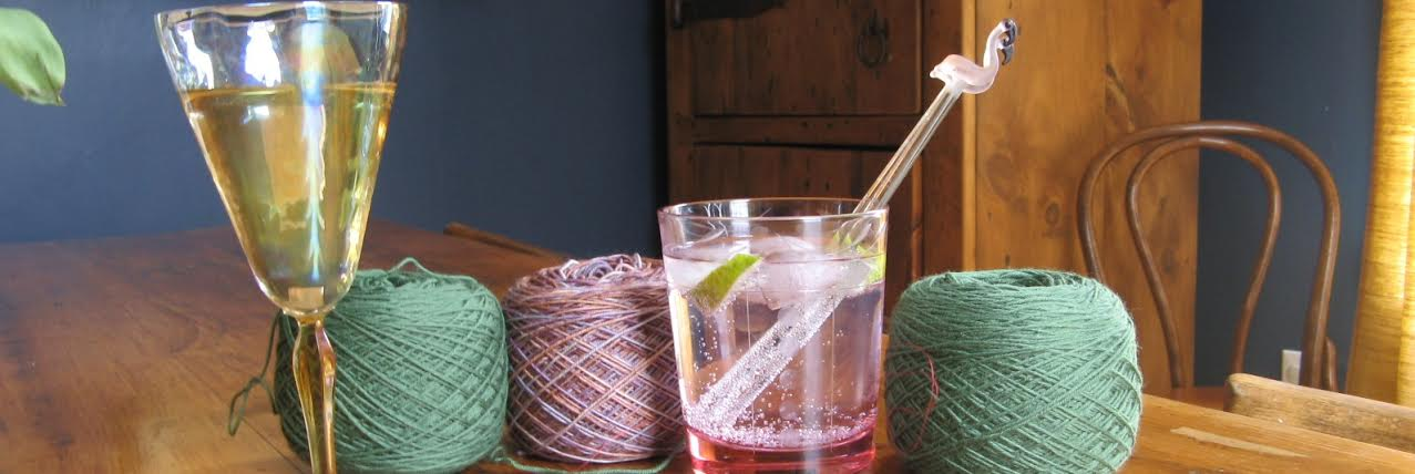 cocktails and yarn