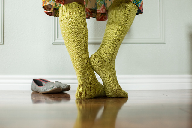 Kate Atherley's  Washington State Knee Socks
