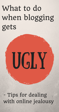 What to do when blogging gets ugly