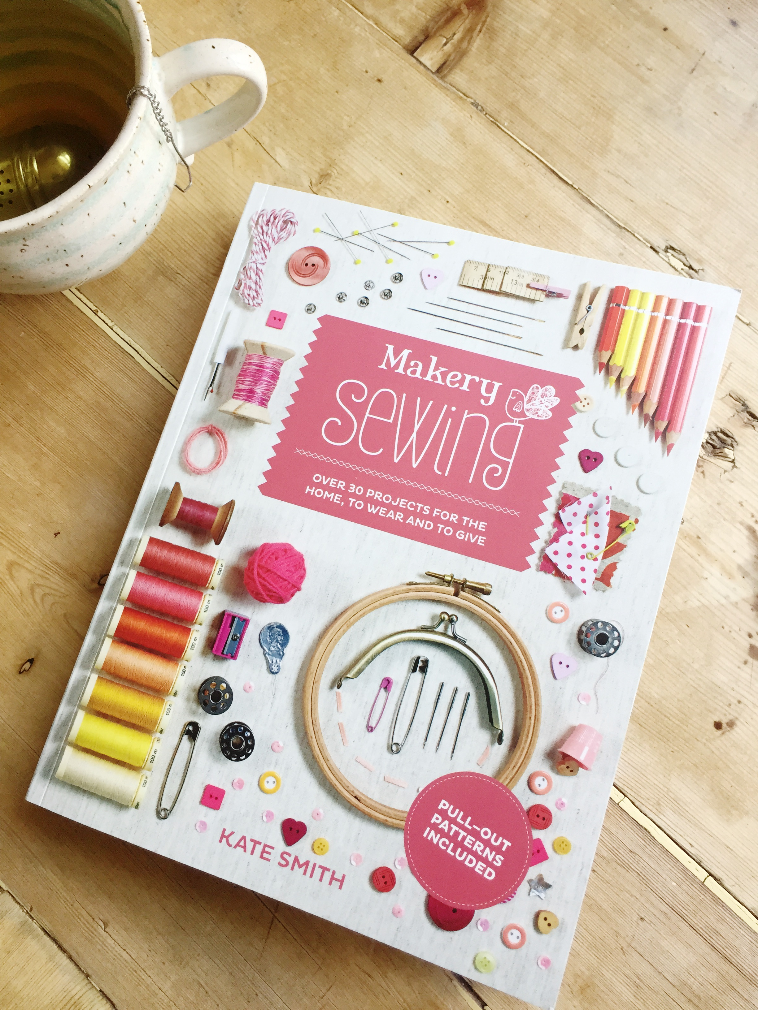 A review of Makery Sewing by Kate Smith
