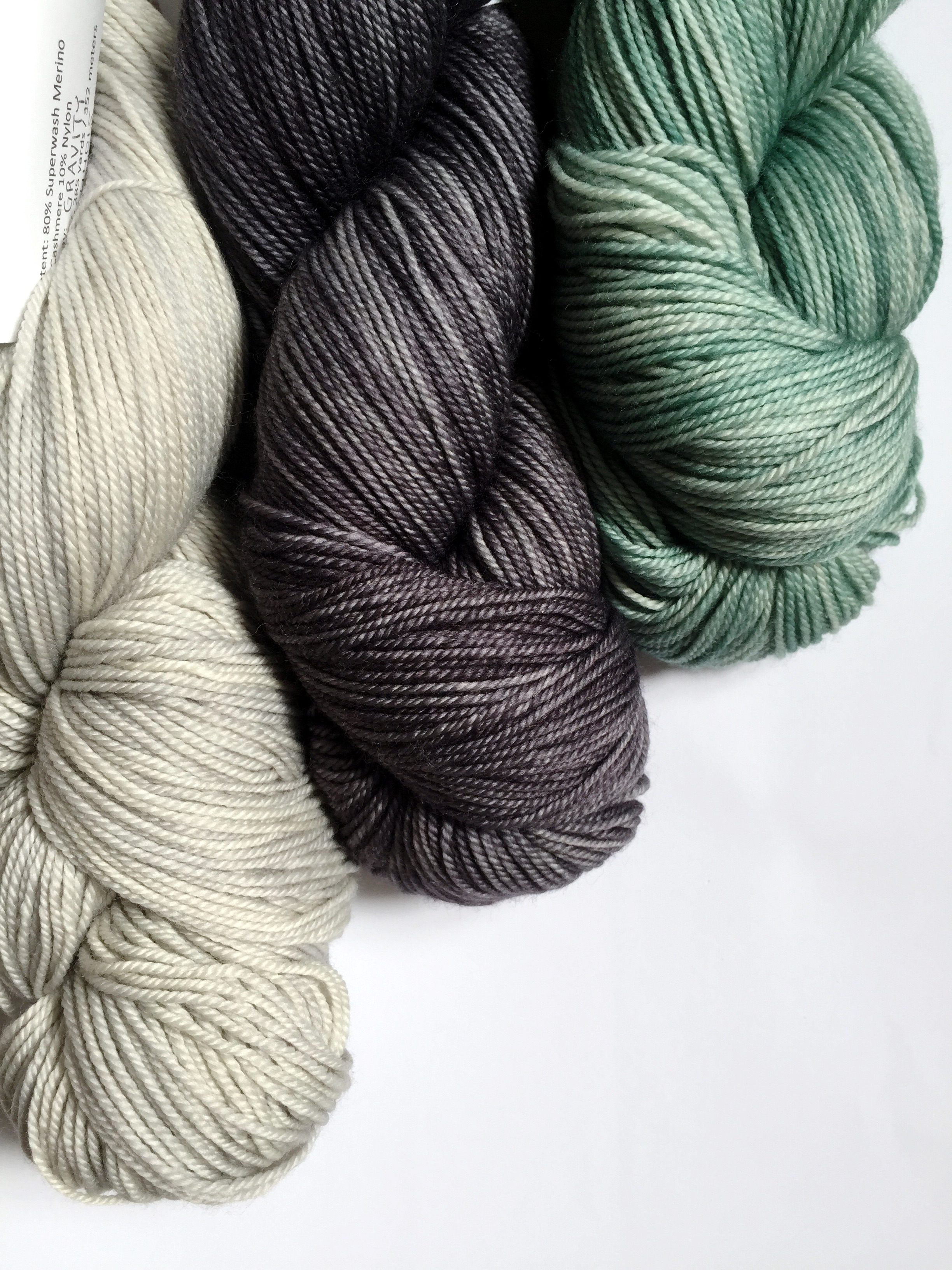 3 colours of Anzula Squishy