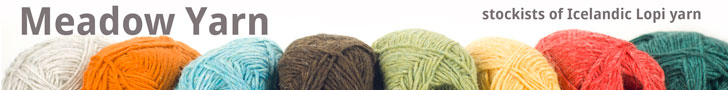 Meadow Yarnis an inviting online retailer selling yarn, needles and notions. It's a small, family business based in rural Suffolk in the UK. Meadow Yarn was born out of a passion for beautiful yarn and knitting accessories and aims to bring you a range of great products. Please click on the banner above for further information
