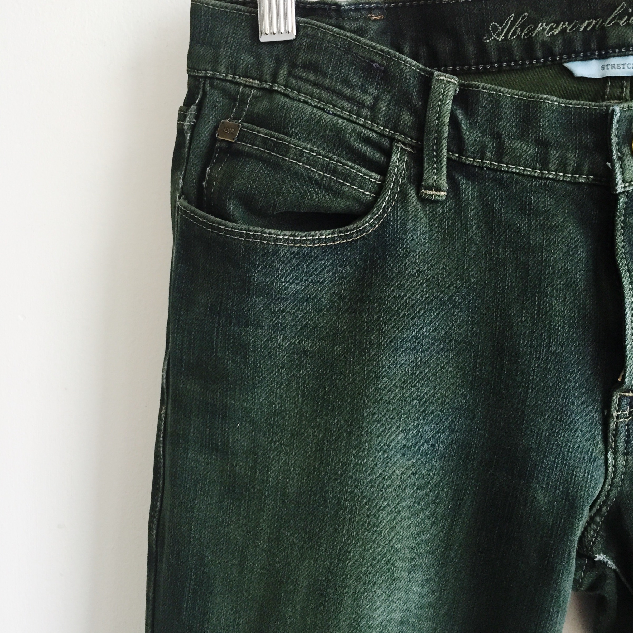 reworked jeans with Dylon