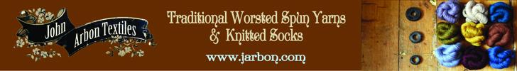 John Arbon Textiles Sponsorship banner