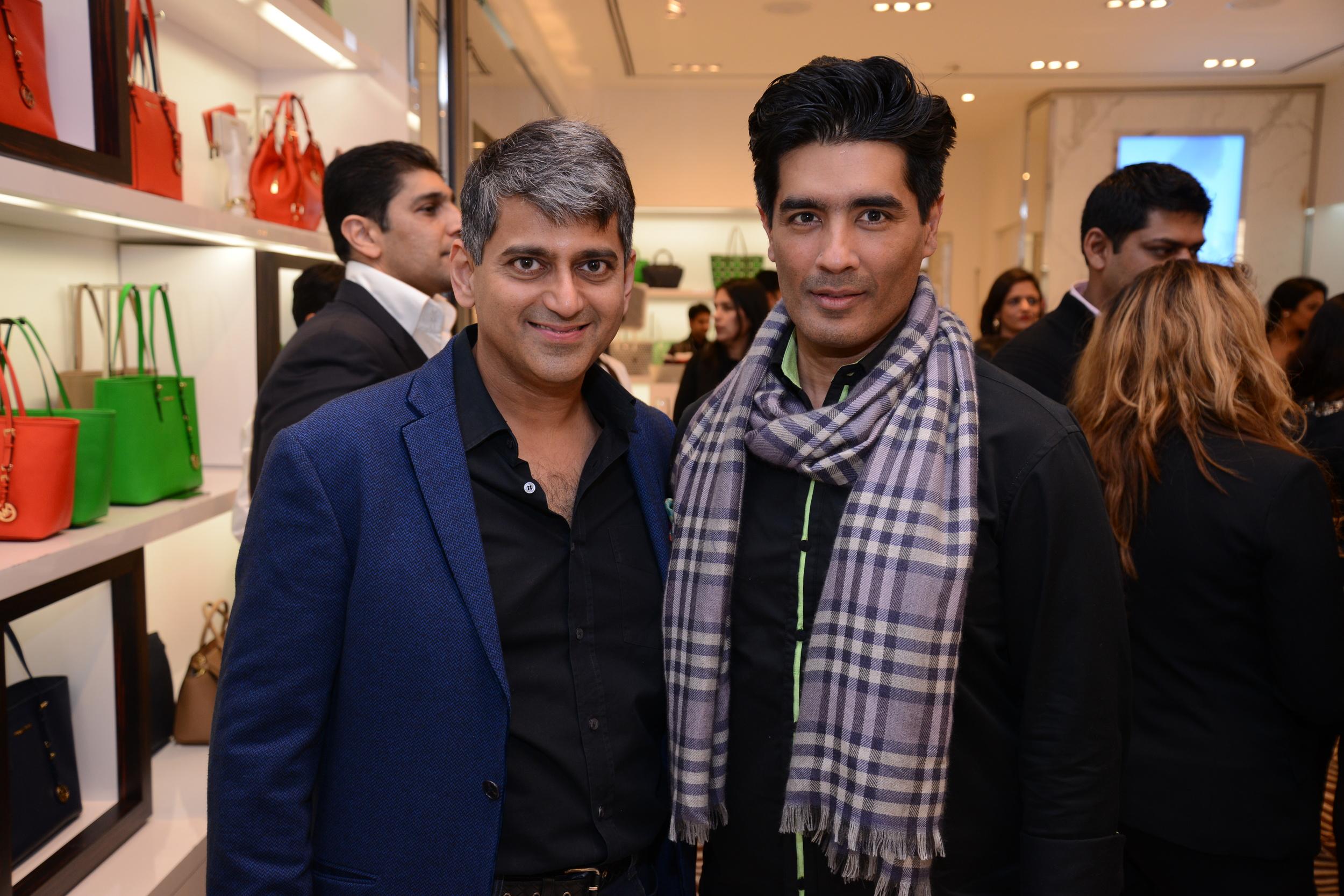 Sanjay Kapoor & Manish Malhotra