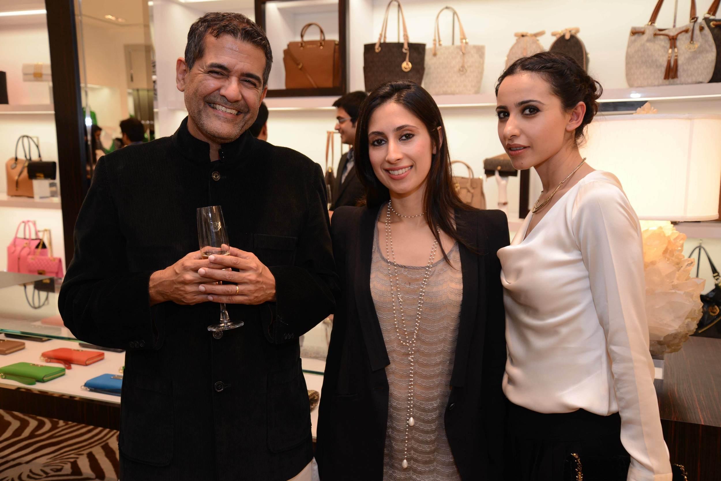 AD Singh, Savitri Singh and Mandira Wirk