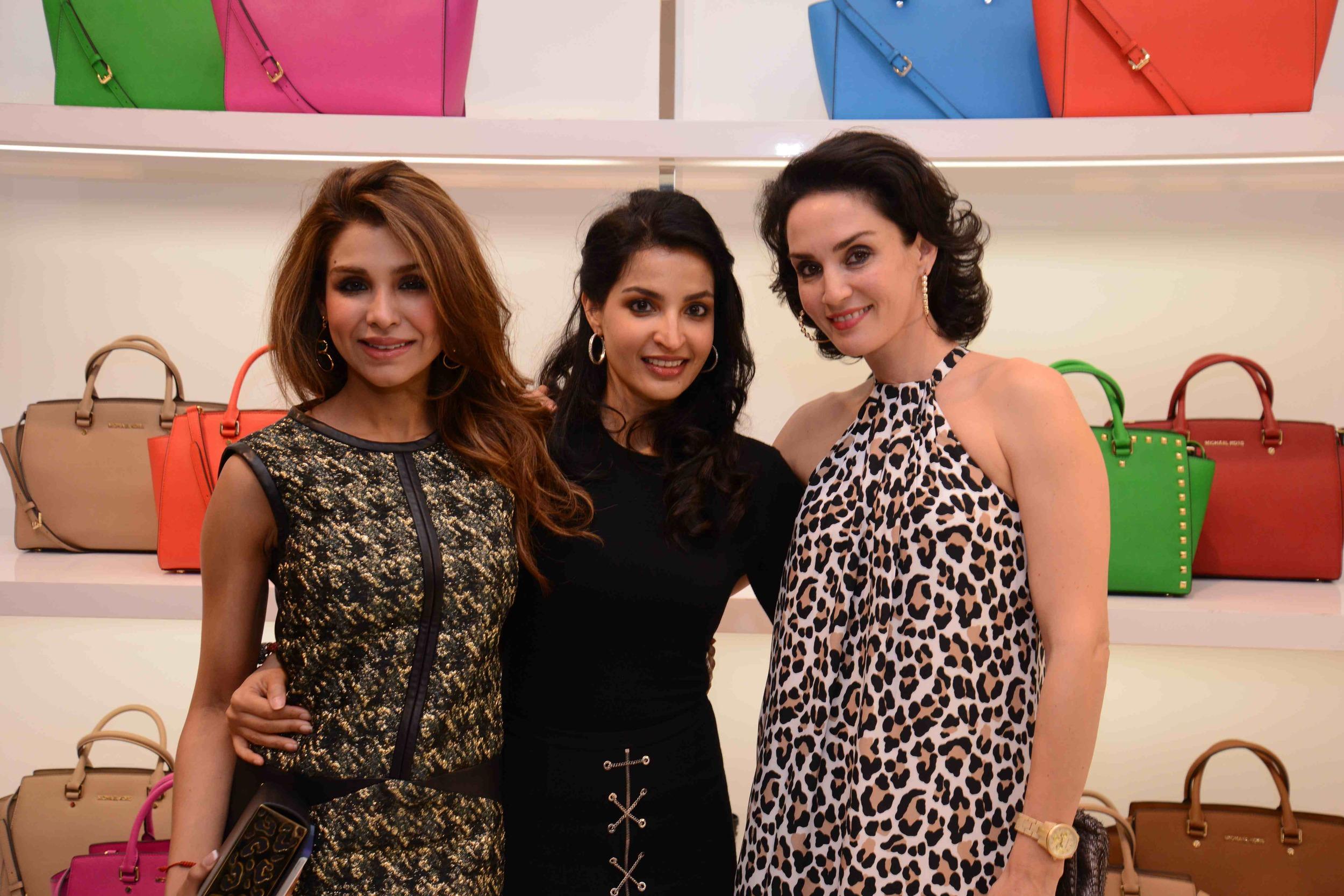 Niamat Bakshi, Sumaya Dalmia and Sonya Jehan