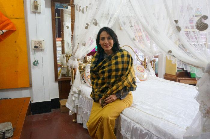 Designer Krishna Mehta at Maheshwar