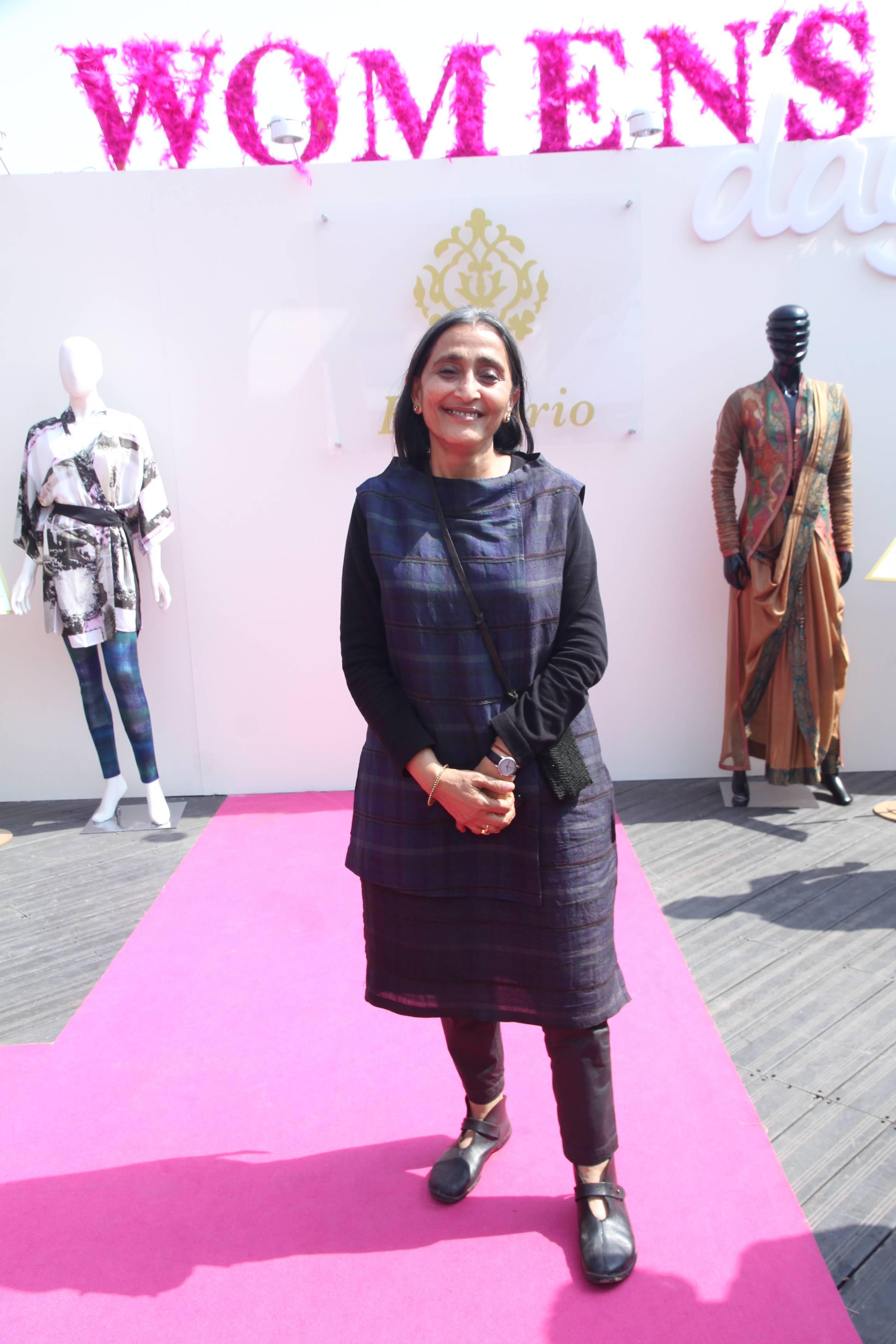 DLF Emporio - Women's Day - Neeru Kumar at the event.jpg
