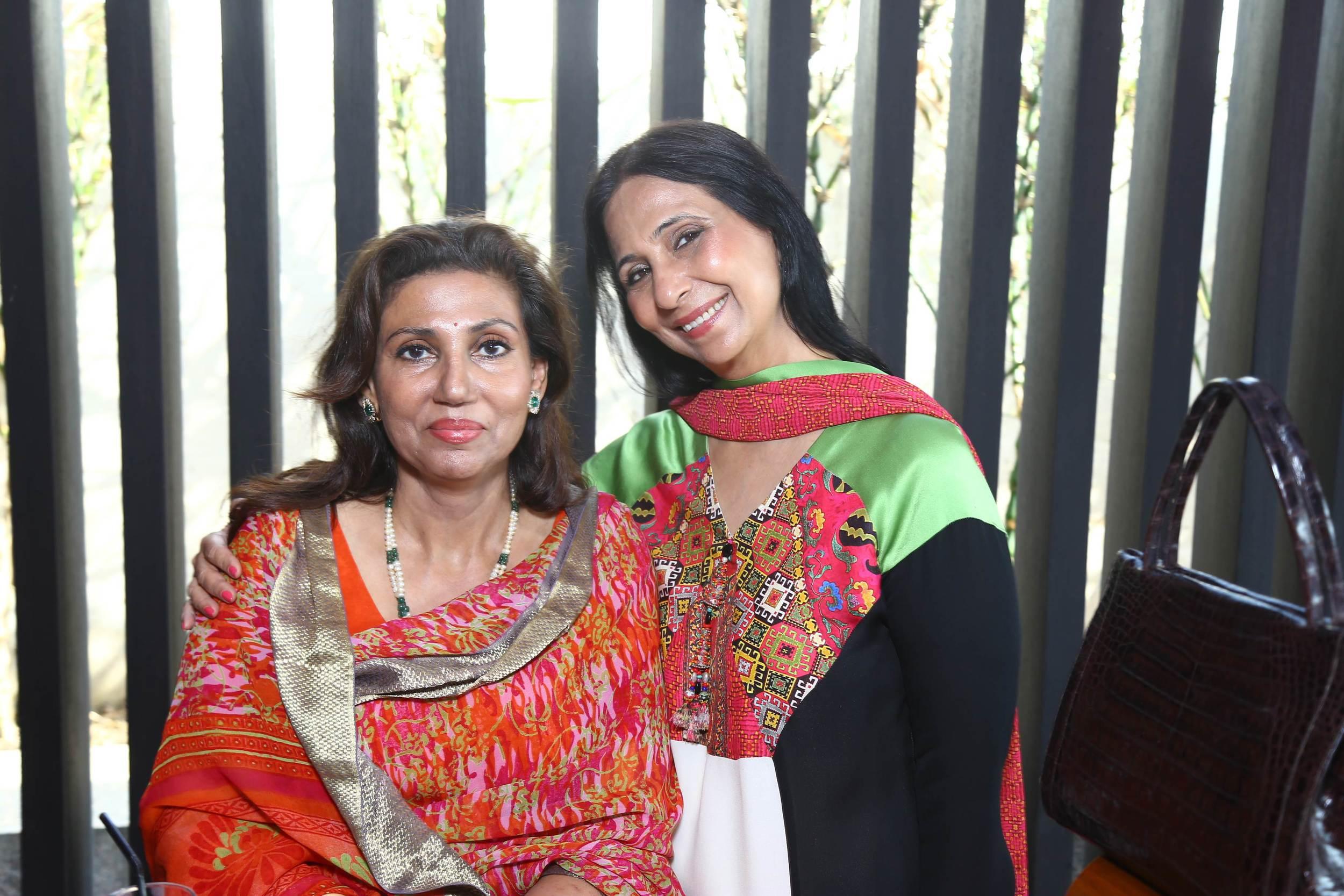 DLF Emporio - Women's Day - Rani Reema Singh with Leena Singh (Ashima Leena).jpg
