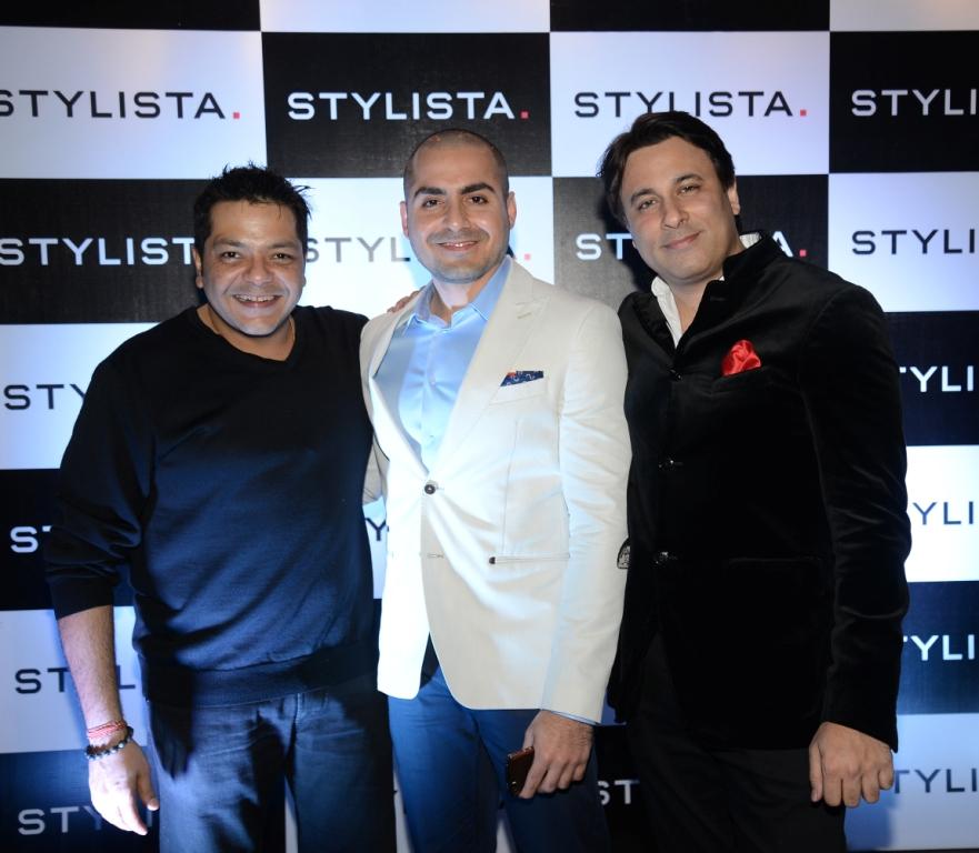 Rishi Rajani (Director, Stylista.com), Rishi Khiani (Director, Stylista.com) and Avnish Chhabria (CEO, Stylista.com)